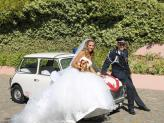 Mini antigo para Casamentos - Carros Clássicos Rita Catita