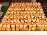 Grande variedade de mini canapés - Sobreiro Real Eventos
