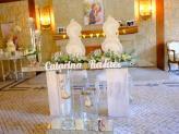 Decoração da mesa dos Noivos - Sobreiro Real Eventos