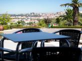 Vista sobre a cidade, da esplanada - Hotel Dom Luís