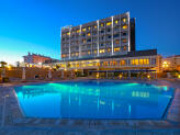 Santarém Hotel - Fachada Sul - Piscina exterior - Santarém Hotel