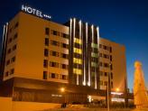 Santarém Hotel - Fachada Norte Nocturna - Santarém Hotel