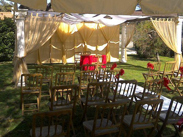 Oferta espaço jardim para casamento registo civil