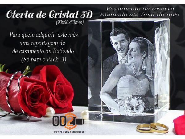 Oferta de um Cristal 3D