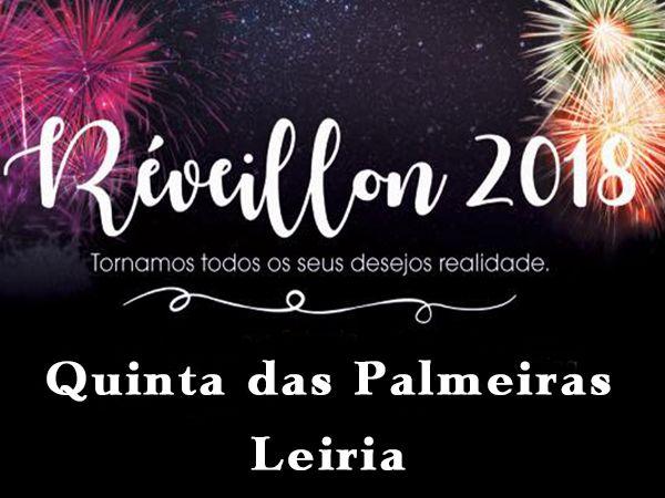 Passagem de Ano - 2017-2018 na Quinta das Palmeiras