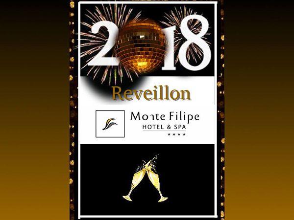 Passagem de Ano 2017-2018 no Monte Filipe Hotel